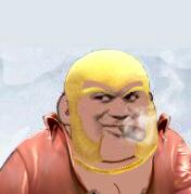黄头发抽烟