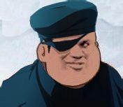 蓝帽子戴眼罩独眼龙