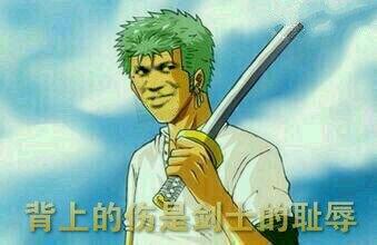 海贼王卓洛:背上的伤是剑士的耻辱