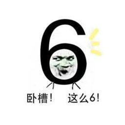 6卧槽!这么6!