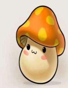 可爱小蘑菇