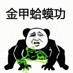 金甲蛤蟆功