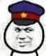教皇头戴警察帽