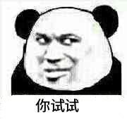 你试试(熊猫)
