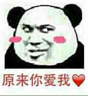 原来你爱我(熊猫人)