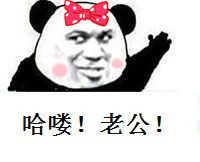 哈喽!老公!(熊猫)