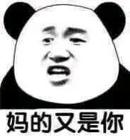 妈的又是你(熊猫人)