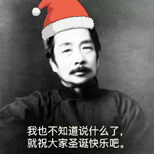 我也不知道说什么了,就祝大家圣诞快乐吧。