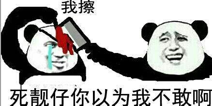 我擦 死靓仔 你以为我不敢啊 金馆长熊猫人我擦 死靓仔 你以为我不敢啊