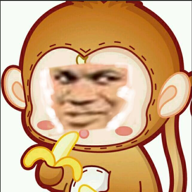 猴子教皇吃香蕉