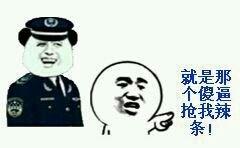 警察叔叔就是那个傻逼抢我辣条