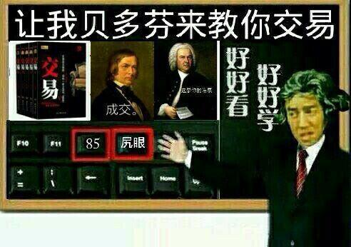 让我贝多芬来教你交易(好好学,好好看)