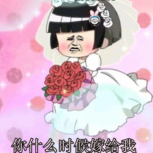 你什么时候嫁给我(金馆长穿婚纱)