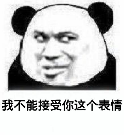 我不能接受你这个表情(熊猫人教皇)
