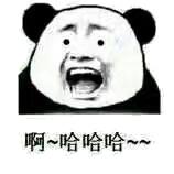 啊,哈哈哈哈(熊猫小眼睛)